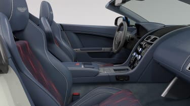 Aston Martin V8 Vantage Great Britain Edition - interior