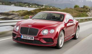 Bentley Contintental GT Speed 2015 front