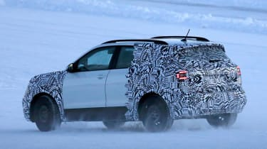 Volkswagen T-Cross - spy shot rear/side