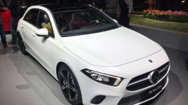 New Mercedes A-Class - reveal front