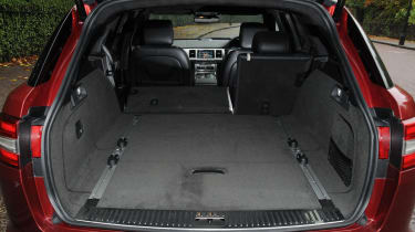 Jaguar XF Sportbrake 2.2 boot