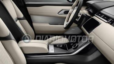 Range Rover Velar - leaked front seats