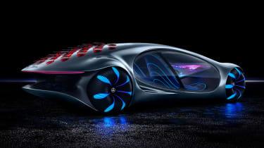 Mercedes Vision AVTR concept - rear studio