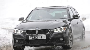BMW 330d xDrive M Sport Touring front