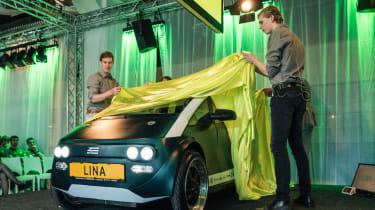 Flax fibre car - reveal