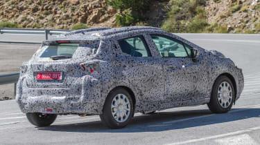 Nissan Micra 2017 spies  rear side