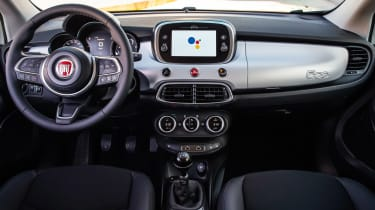 Fiat 500X Google - dash