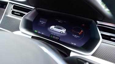 Tesla Model S 75D - dials