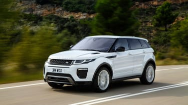 Range Rover Evoque 18MY 240PS - front action