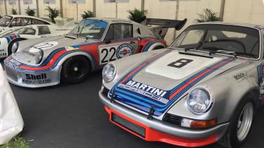 Porsche stand - Goodwood