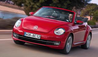 Volkswagen Beetle Cabriolet front cornering