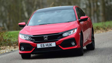 Honda Civic 1.0 - front cornering