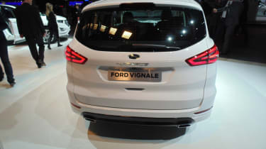 Ford S-MAX Vignale Geneva - rear