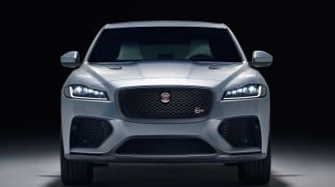 Jaguar F-Pace SVR - full front studio