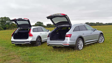 Audi A6 Allroad vs Volvo V90 Cross Country - boots