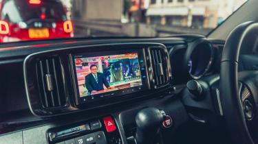 Honda N-One - screen