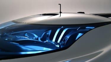 Jaguar Vision Gran Turismo SV cabin