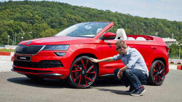 Skoda Sunroq - wheels