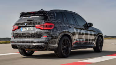 BMW X3 M Performance - rear