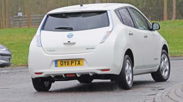 Nissan Leaf rear corner