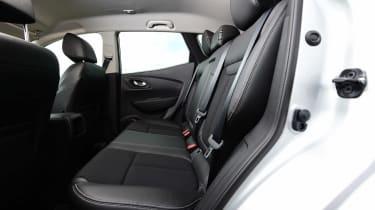 MG GS vs rivals - Renault Kadjar rear seats