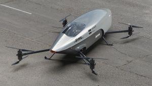 Airspeeder Mk3 - rear
