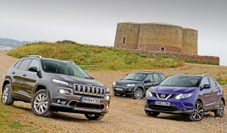 Jeep Cherokee group test
