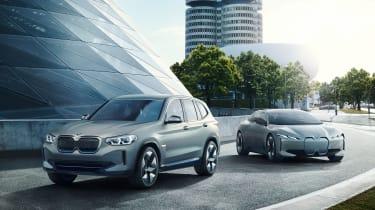 BMW iX3 - range