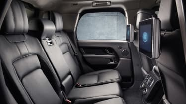 Range Rover Sentinel interior