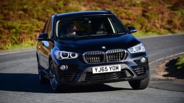 BMW X1 cornering