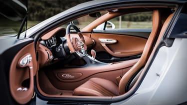 Bugatti Chiron Super Sport - cabin