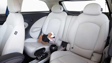 MINI Paceman rear interior