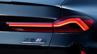 BMW X6 M Competition - rear light