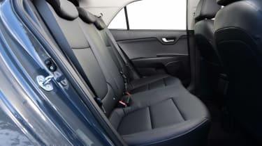 Kia Rio facelift - rear seats