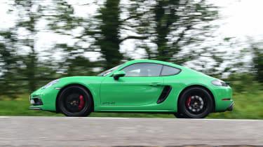 Porsche 718 Cayman GTS 4.0: long-term test review - first report side