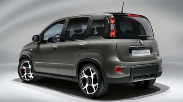 Panda Sport 2021 rear view