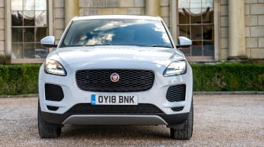 Jaguar E-Pace D150 - full front static