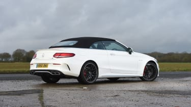 Mercedes-AMG C 63 Cabriolet 2017 - roof closed