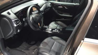 Infiniti QX30 SUV LA Show interior