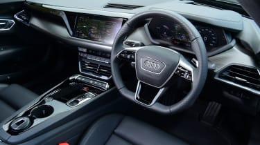 Audi e-tron GT - interior