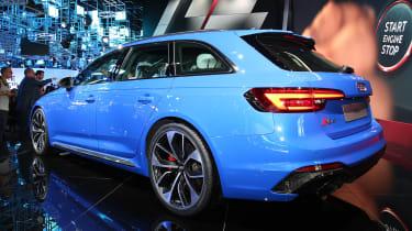 Frankfurt - Audi RS4 Avant - rear