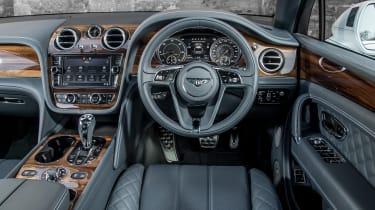 Bentley Bentayga Diesel - Ice white 2017 interior