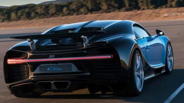 Bugatti Chiron 2016 - Dynamic Rear