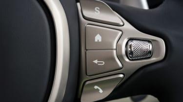 Aston Martin DB11 - steering wheel buttons