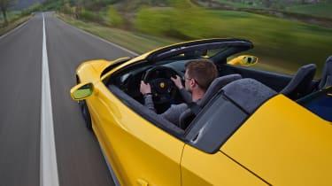Ferrari 488 Pista Spider - Sean Carson driving