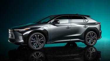 Toyota bZ4X concept - front
