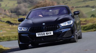 BMW 8 Series - front action
