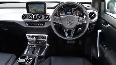 Mercedes X 350 d long-term test - second report dash