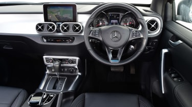 Mercedes X 350 d long-term test - second report dash