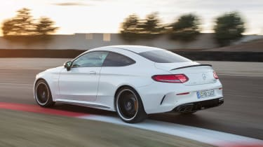 Mercedes-AMG C 63 S - rear tracking